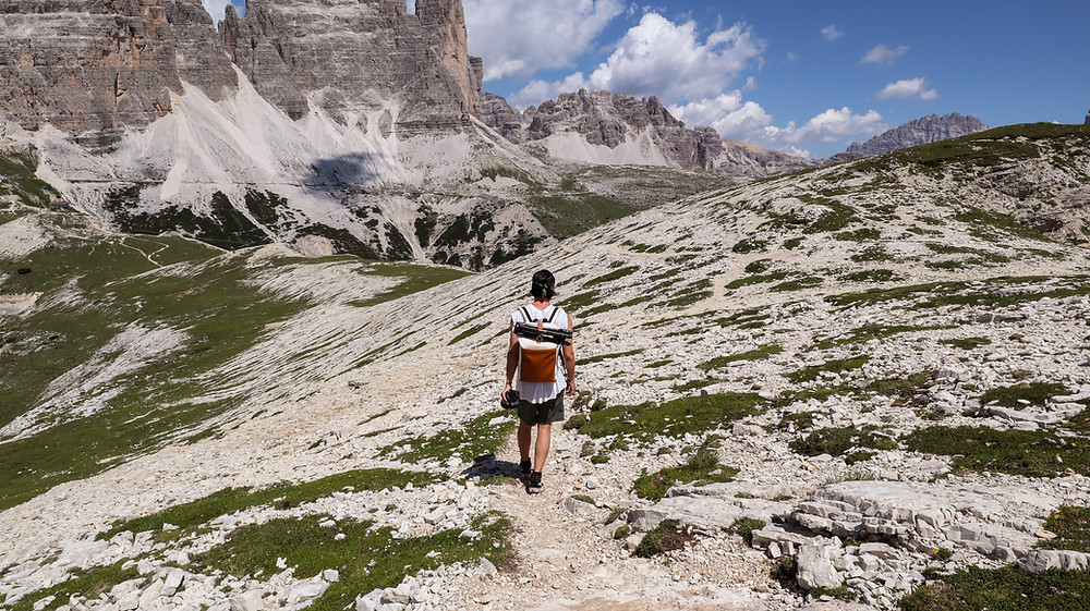 Cadini Di Misurina hike in the Dolomites