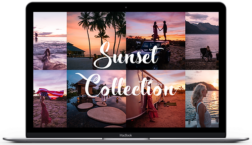 SUNSET COLLECTION - DESKTOP PRESETS