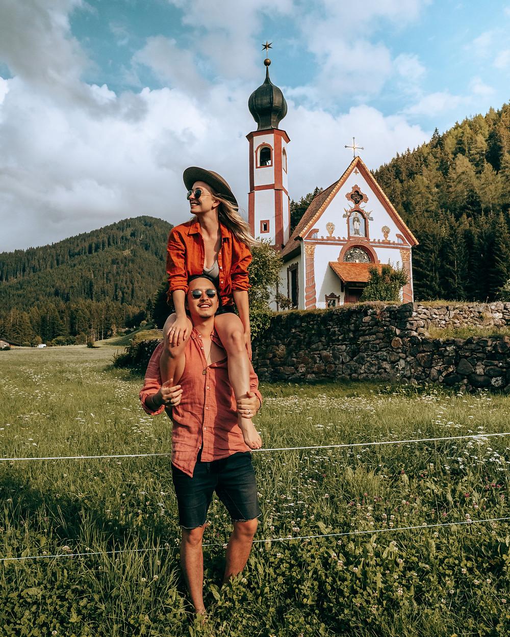 Santa Maddalena (st Magdalena) Val di Funes, Dolomites Italy