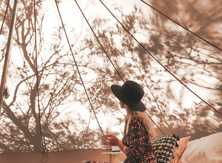 How to enjoy a weekend away glamping in the Blue Mountains Australia!