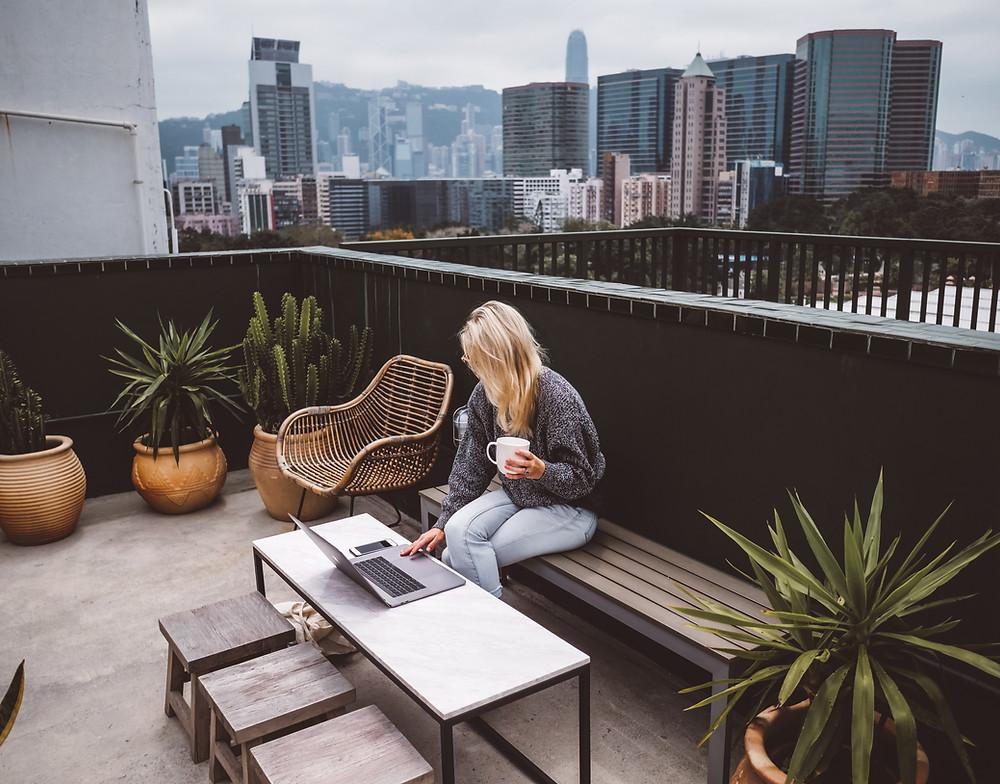 Rooftop at The Nate Studios Hong Kong