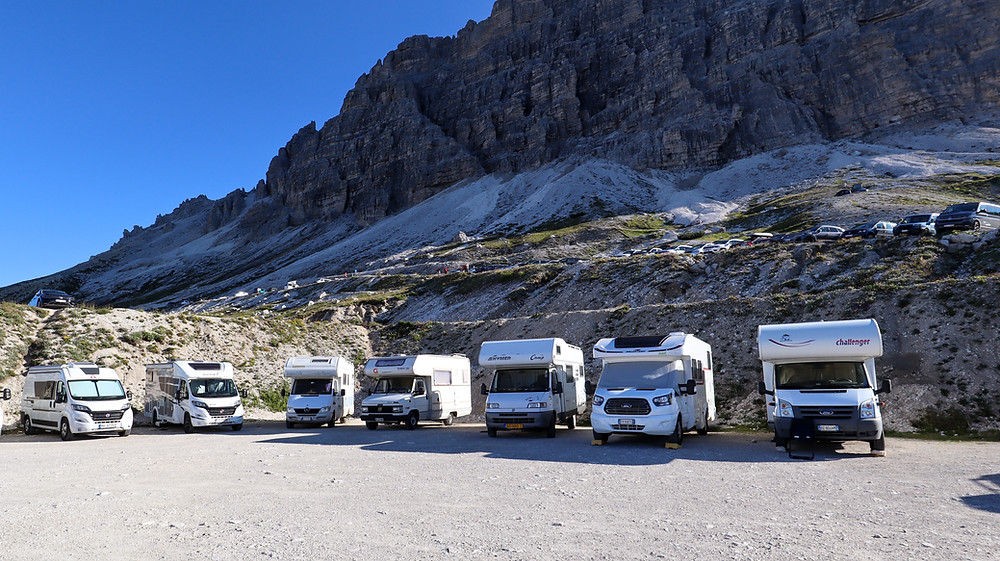 Tre Cime Di Lavaredo National Park - Car park