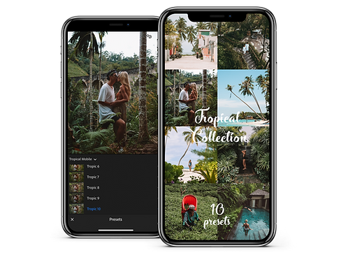 TROPICAL COLLECTION - MOBILE PRESETS
