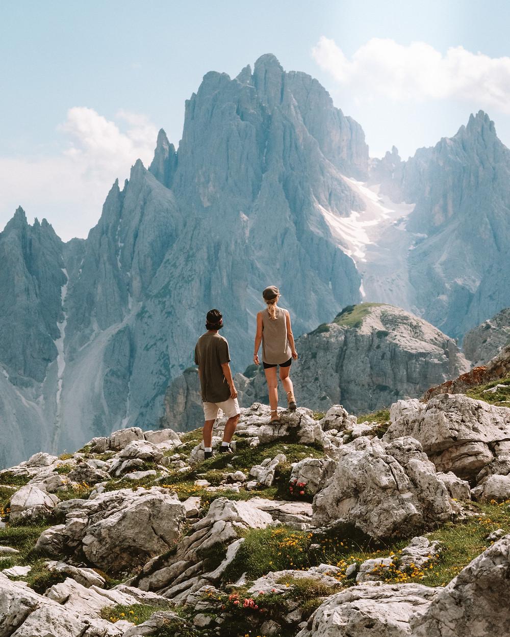 Instagrammable location, Tre Cime Di Lavaredo, Dolomites Italy