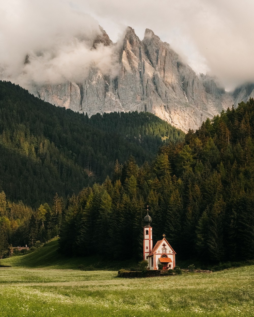 Val di Funes Church