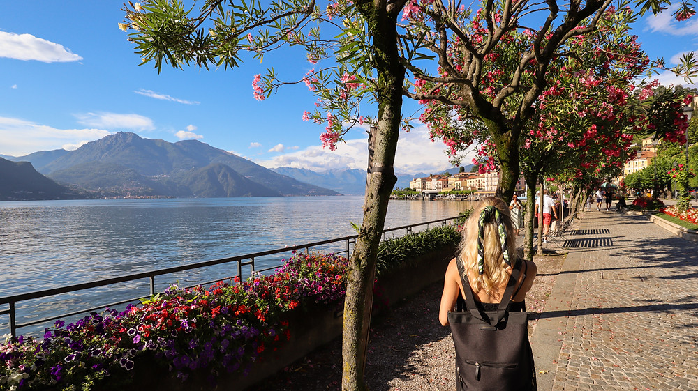 Lake Como views in Bellagio