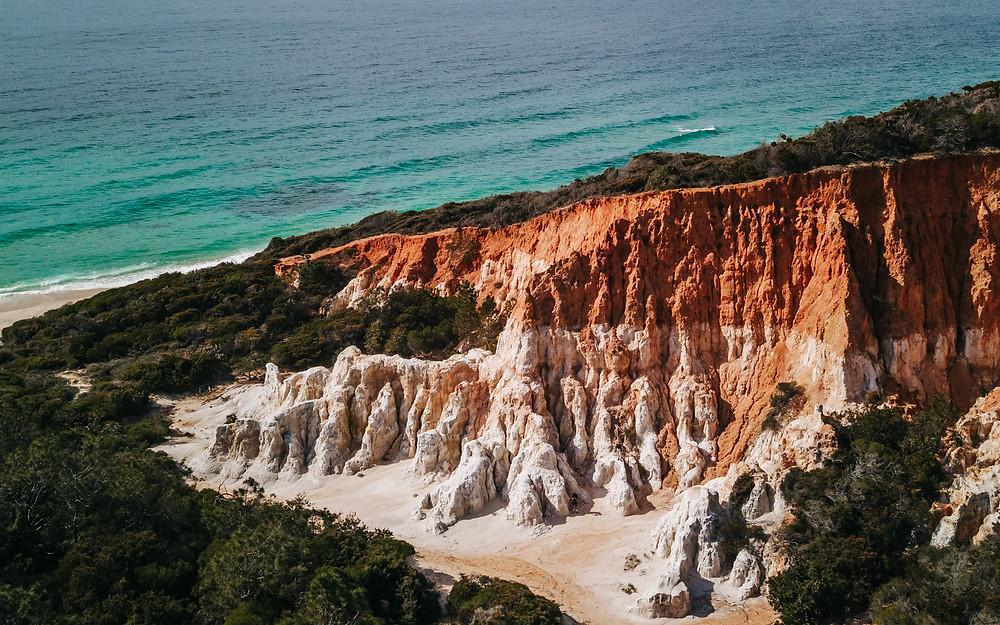 The Pinnacles, Ben Boyd National Park in Sapphire Coast, Australia