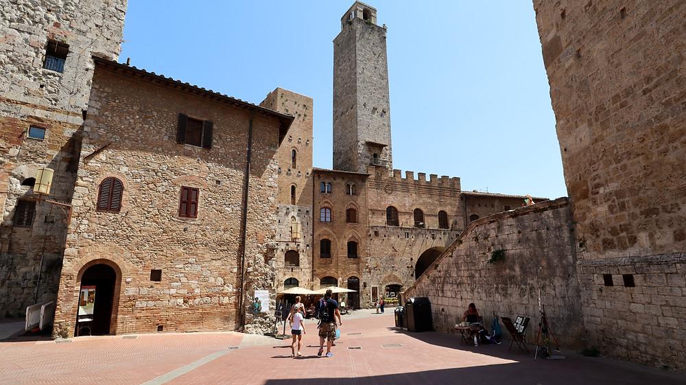 San Gimignano centre