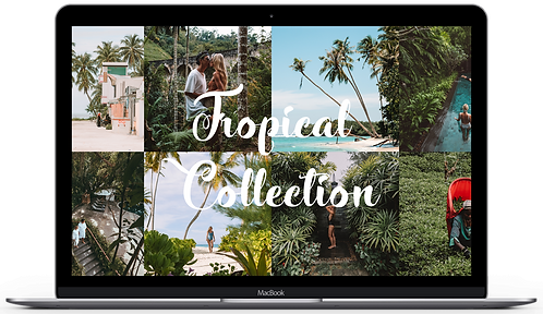TROPICAL COLLECTION - DESKTOP PRESETS