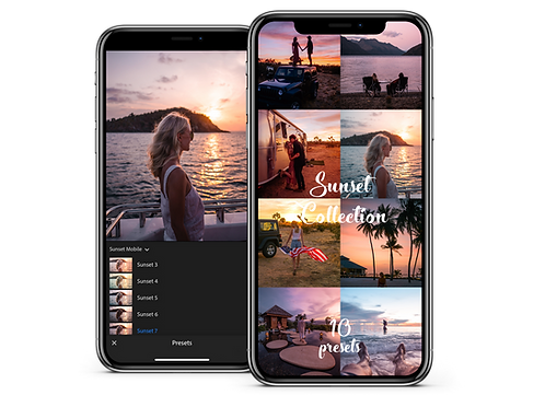 SUNSET COLLECTION - MOBILE PRESETS