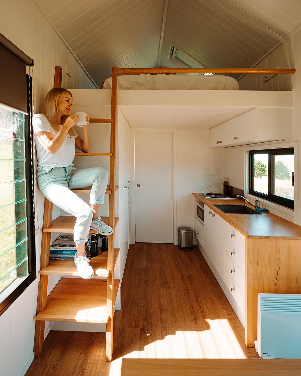 Tiny home experience in Tilba Tilba, Sapphire Coast NSW