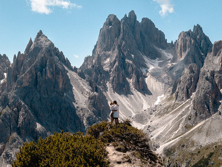 8 Instagrammable Italy photography locations - The Dolomites