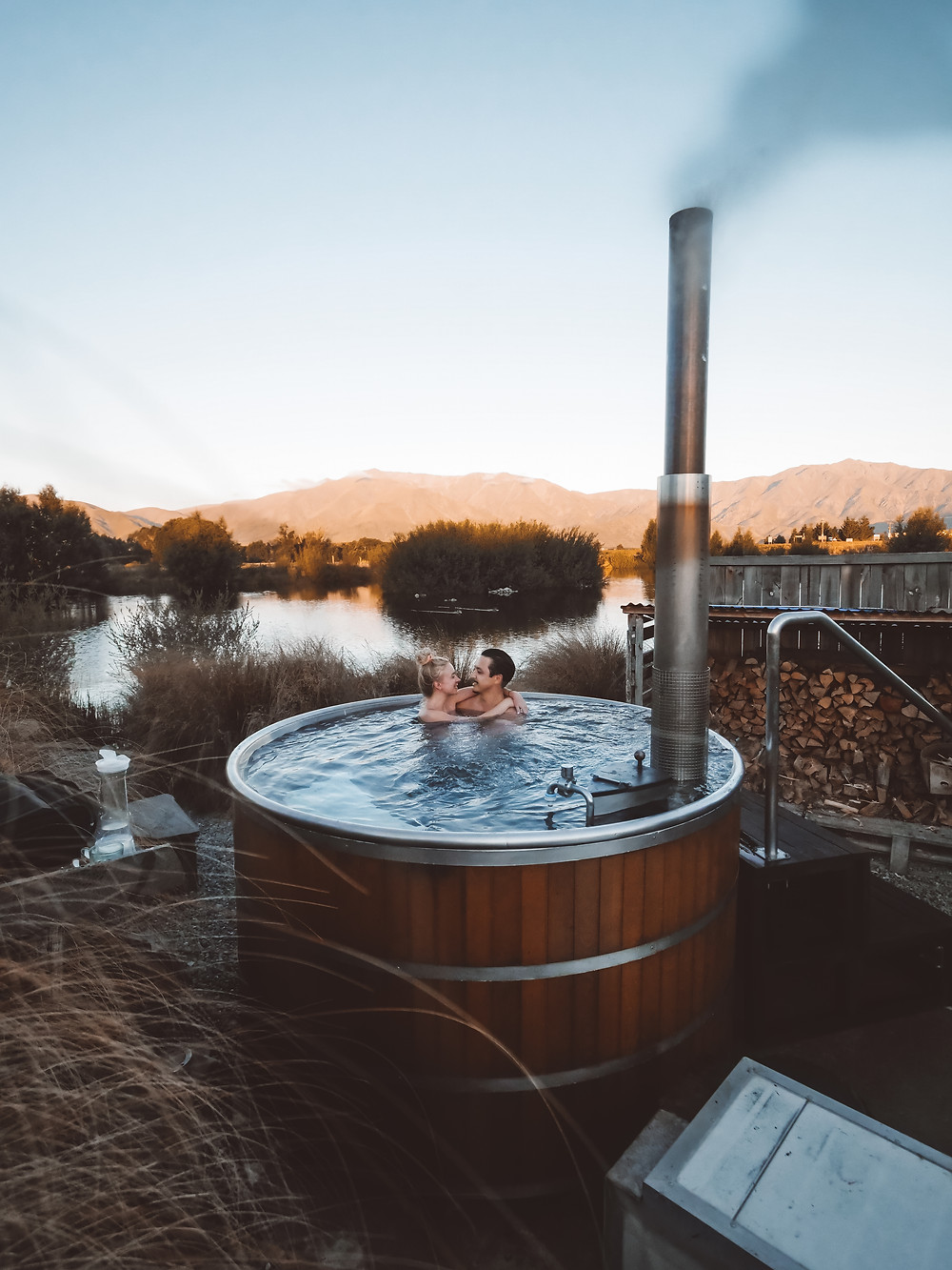 TWOSOME TRAVELLERS OMARAMA HOT TUB POOLS NEW ZEALAND