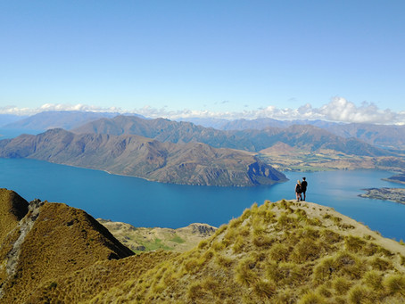 Hike the iconic Roys Peak in Wanaka, New Zealand