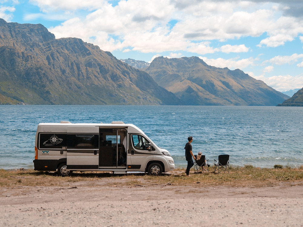 Lake Wakatipu camping spot