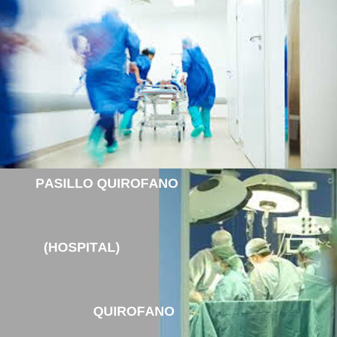 8 SET HOSPITAL PASILLO Y QUIROFANO