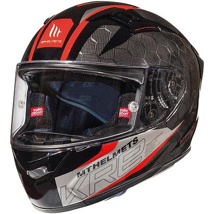 Mt Helmets KRE Snake Carbon 2.0 Red
