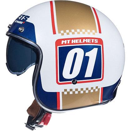 Mt Helmets Le Mans 2 SV Numberplate