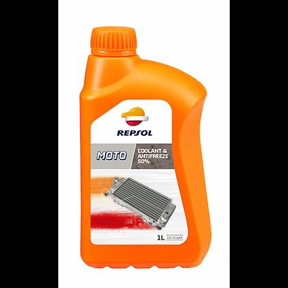 Repsol coolant & antifreeze 50%