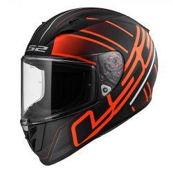 LS2 FF323 Arrow R Evo Ion Matt Black Red