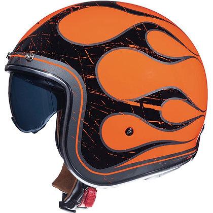 Mt Helmets Le Mans 2 SV Flaming