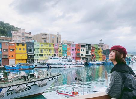 基隆小鎮正繽紛!正濱漁港、阿根納造船美景美拍美食!