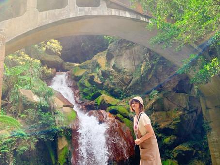 草山水道,藍寶石泉 陽明山裡的秘境,非請勿進。