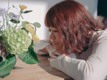 鏡中之花|子皿花藝課初體驗