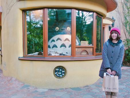 我與龍貓的記憶|在東京邂逅龍貓的場景