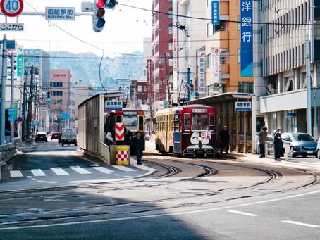 哈囉北海道|函館|元町的白晝與黑夜,函館山百萬夜景。