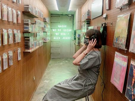 Sidoli Radio小島裡|用卡式錄音帶回味聲音的咖啡館。