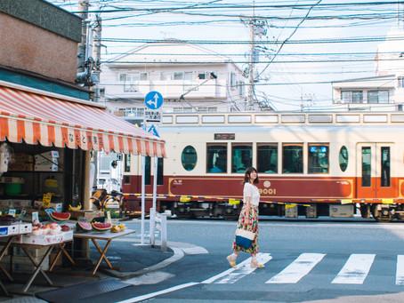 日本路面電車|乘載風景與時光的交通工具。