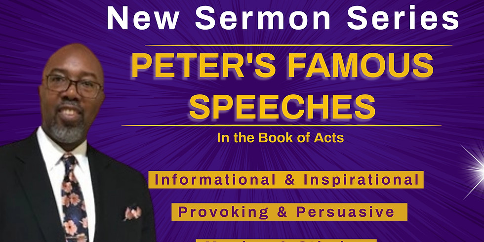 Peter's Famous Speeches