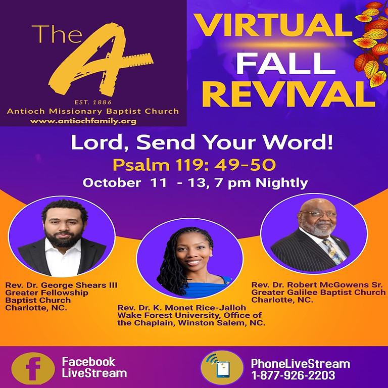 2021 Virtual Fall Revival