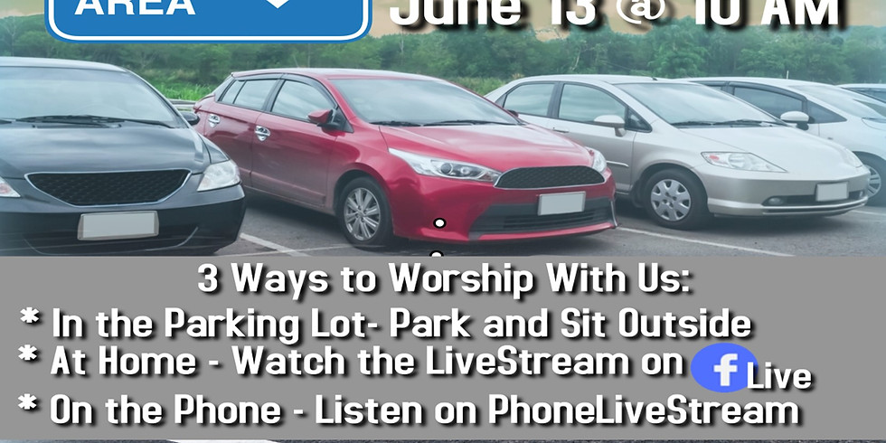 Parking Lot Worship Service