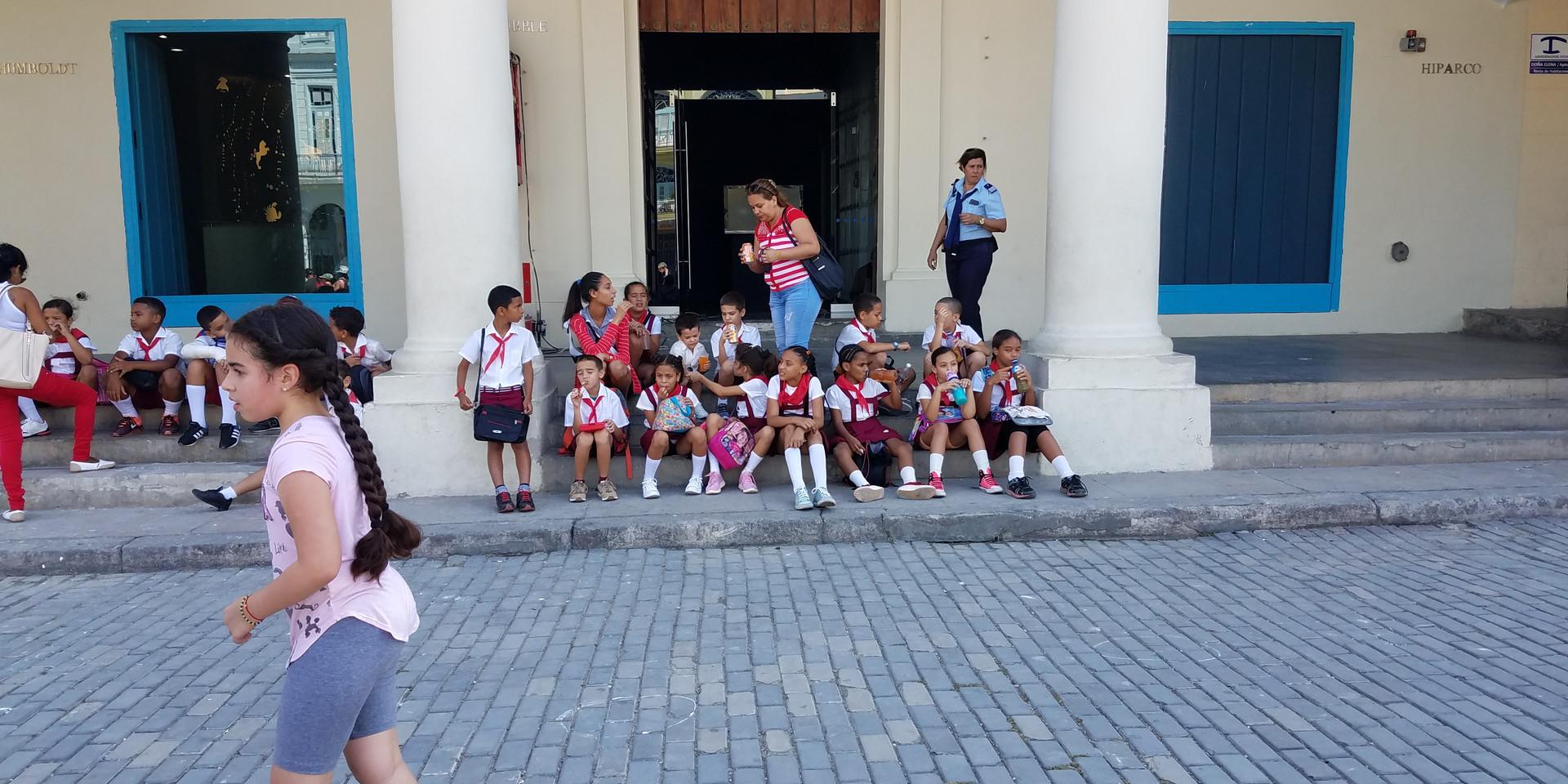Children in Havana