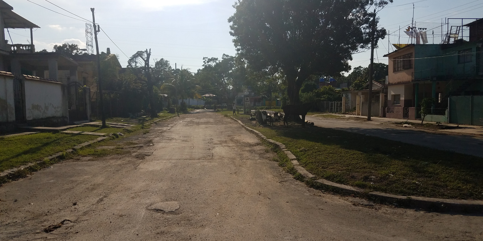 Dirt Road in Havana