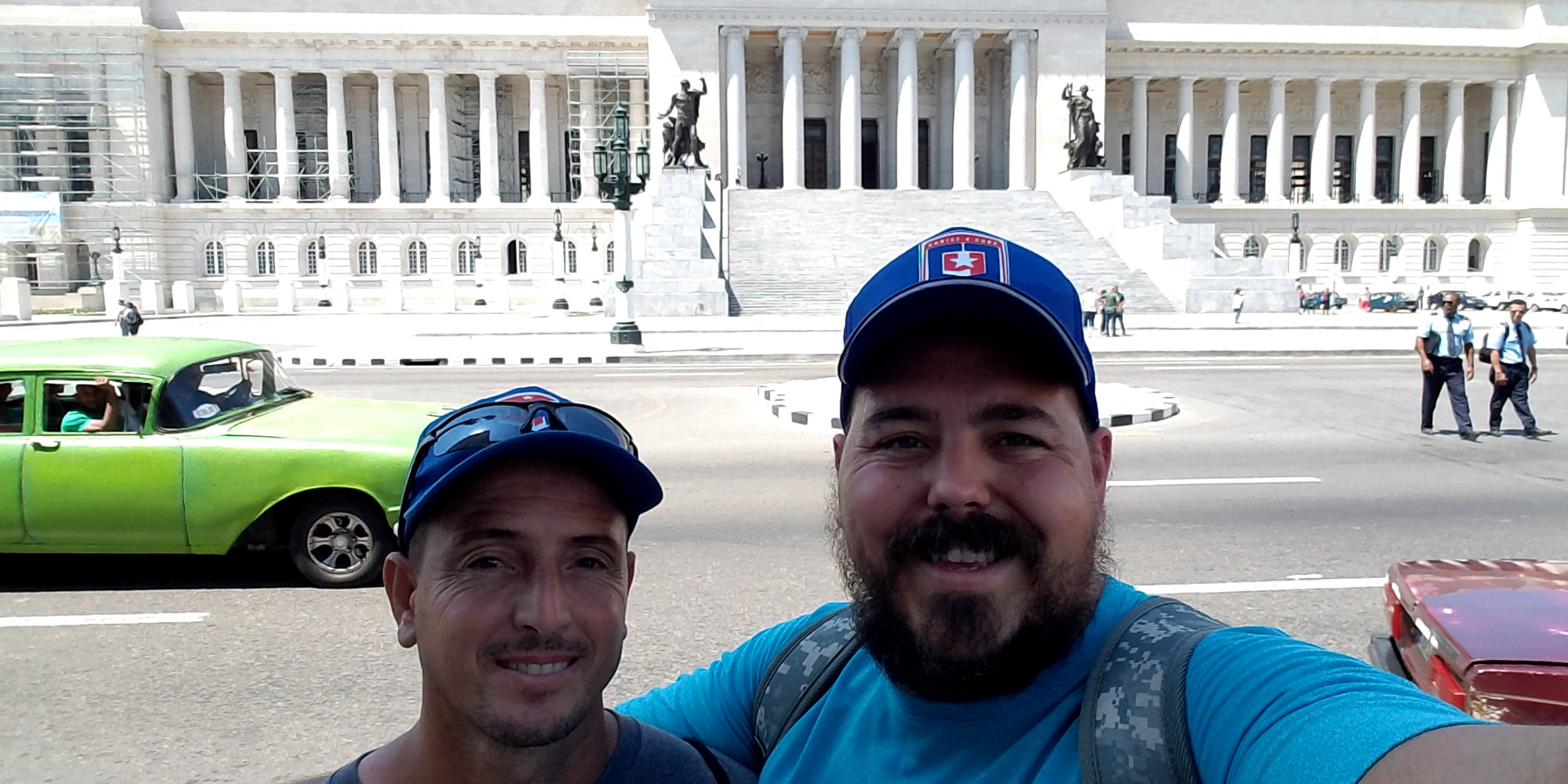Alex and I at the Capitol