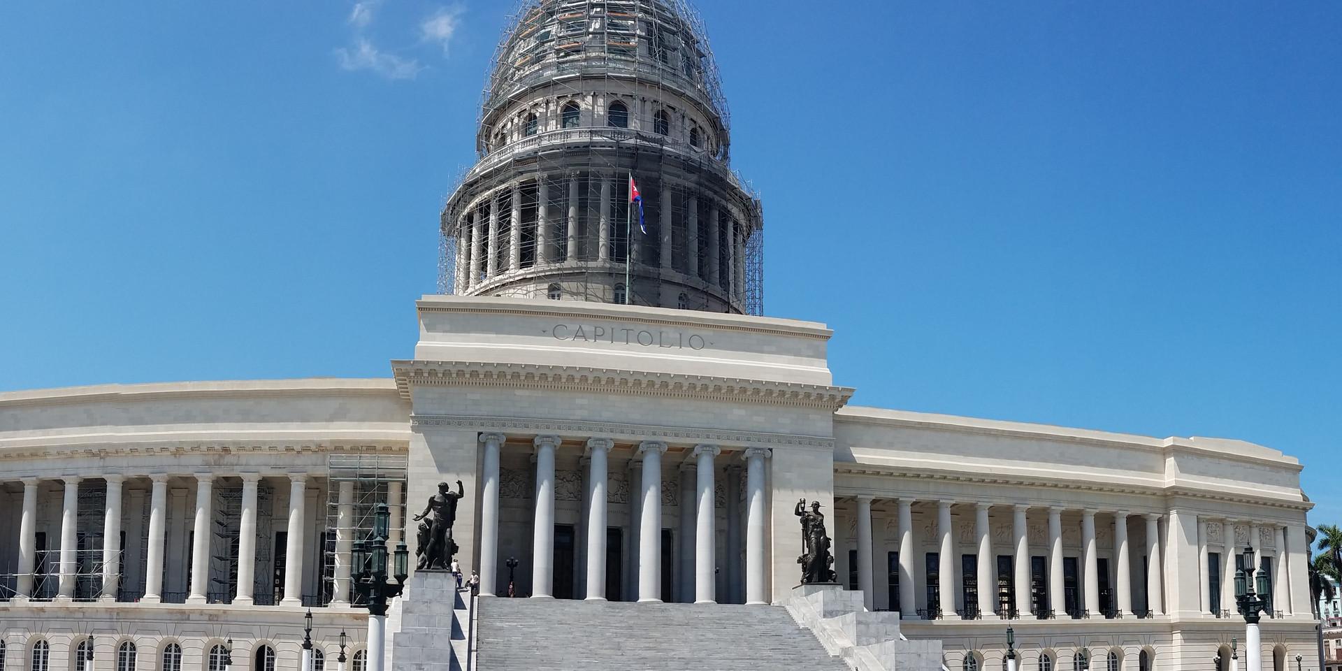 Capitol building in Havana