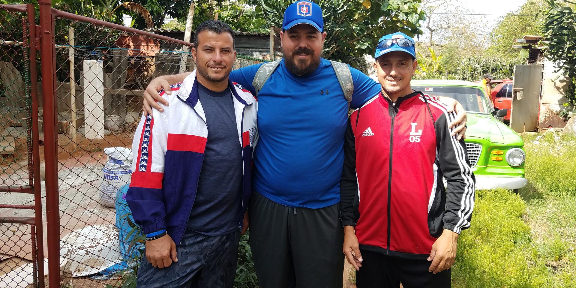 Aurturo, me, and Alex