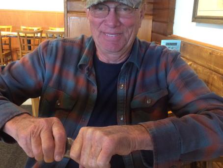 Member Kirby Hammond fought in an early major battle in the Vietnam War.