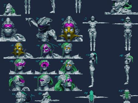 Neyon Clash 3D Design Kickoff