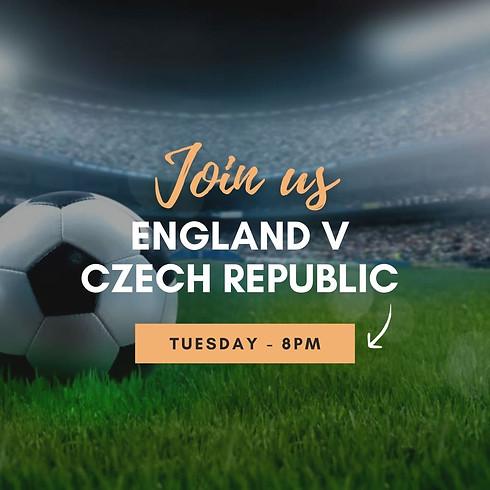 England V Czech Republic - Live at Thea
