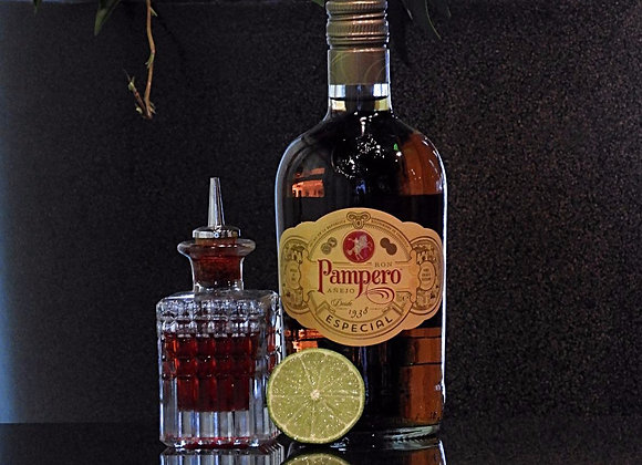 Pampero Anejo Rum Flasche inkl. Softgetränke