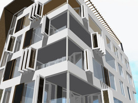 Design CO2 Zero Apartments in Acipayam Turkey is approved