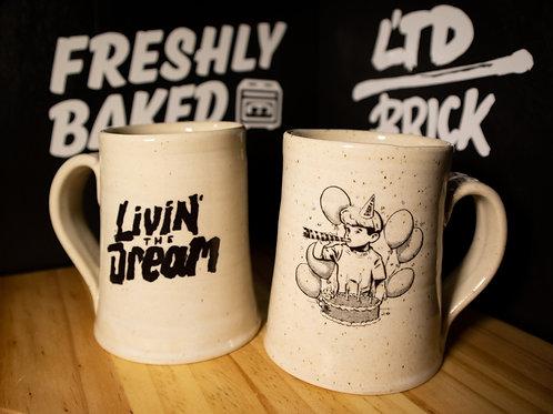 Livin' the Dream 12 oz Mug