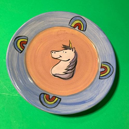 Unicorn Plate 8inch