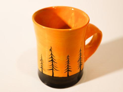 Sunset Forrest Mug