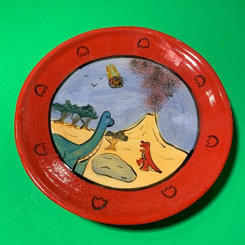 Dino Plate 8inch