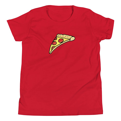 Pizza -Youth Short Sleeve T-Shirt